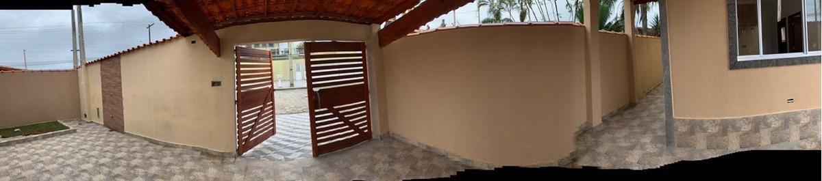 casa nova lado praia - mongaguá  300 mts do mar - financia