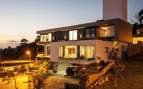 casa nova moderna 5 suítes vista mar condomínio fechado em cacupé florianópolis