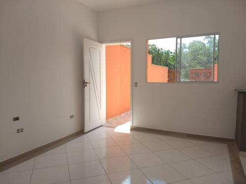 casa nova, na praia, r$65.000 + parcelas, na planta.