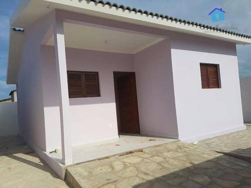 casa nova no centro de jacumã, a 250 metros da praia - ca0310