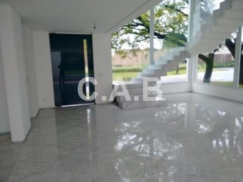 casa nova no residencial alphaville zero - 5585