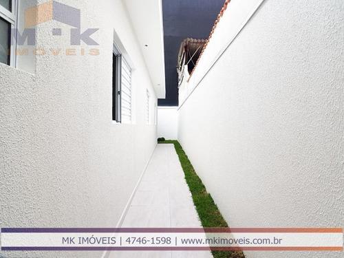 casa nova pronta 3 dormitórios, 1 suíte em suzano - sp - 594