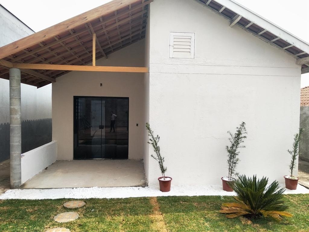 casa nova (terreno inteiro) bairro muito bom