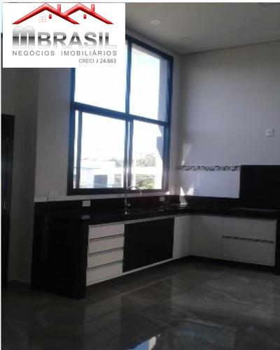 casa nova à venda com 03 dormitórios, 01 suíte, condomínio montreal, aceita terreno como parte de pagamento, indaiatuba, sp - ca04817 - 32705840