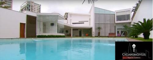 casa novo leblon - 4 suítes - 1.500m² - 039f