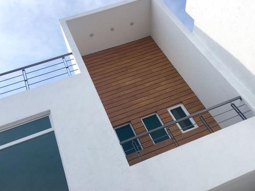 casa nueva 3 rec en venta arboreto, san pedro cholula pue
