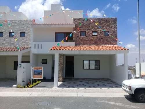 casa nueva con roof garden en juriquilla (lc)