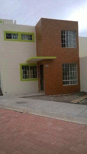 casa nueva de 2 niveles y 3 recámaras en venta