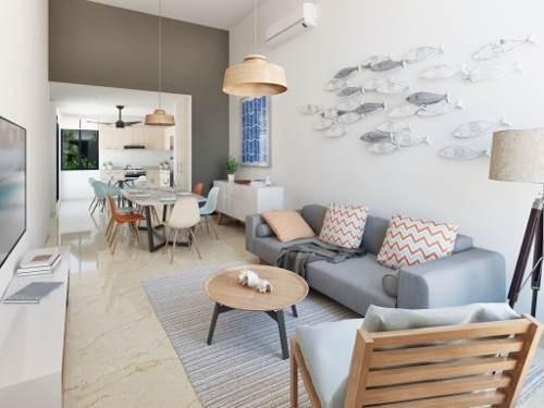 casa nueva en la playa de chelem, en nuevo desarrollo de privadas residenciales