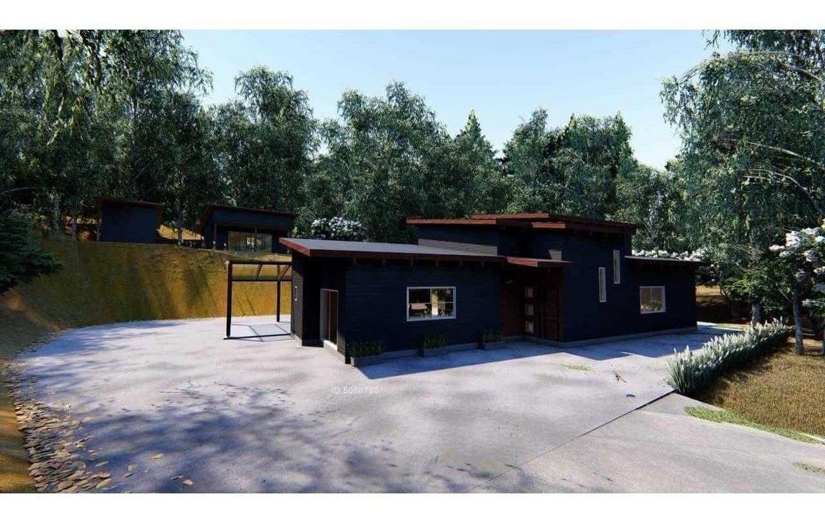 casa nueva en parcela - pichihuape valdivia