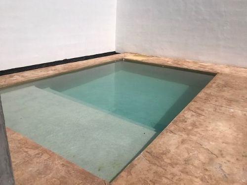 casa nueva en renta en privada fontana con alberca, santa gertrudis