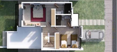casa nueva en venta cerca de la macroplaza, privada antigua residencial, mod. a