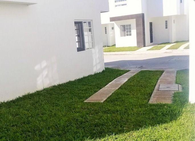 casa nueva en venta col. jardines de champayan, tampico, tam.