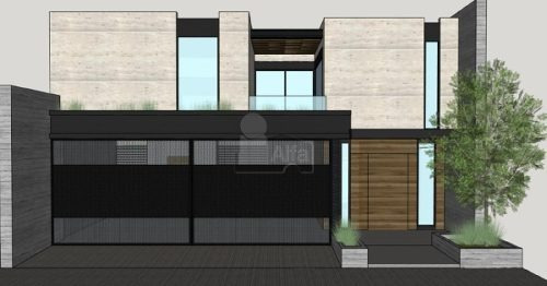casa nueva en venta en col. las fincas 2 sector, santa catarina, n.l.