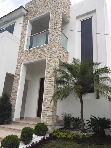 casa nueva en venta en colonia privada con acabados de lujo