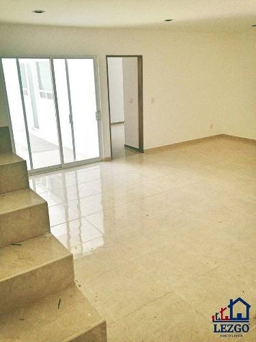 casa nueva en venta en el refugio, 3 rec, sótano