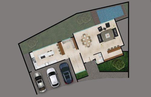 casa nueva en venta en jardines de san agustin.