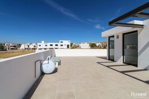 casa nueva en venta en parque veracruz, lomas de angelópolis