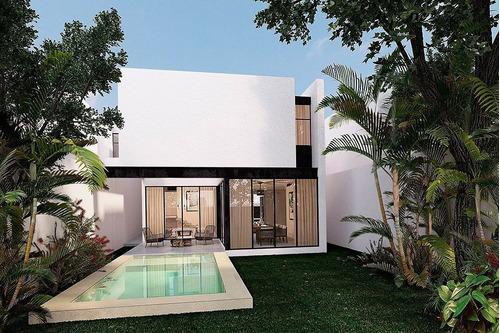 casa nueva en venta en piedra verde, mod. 2, santa gertrudis copo, mérida norte