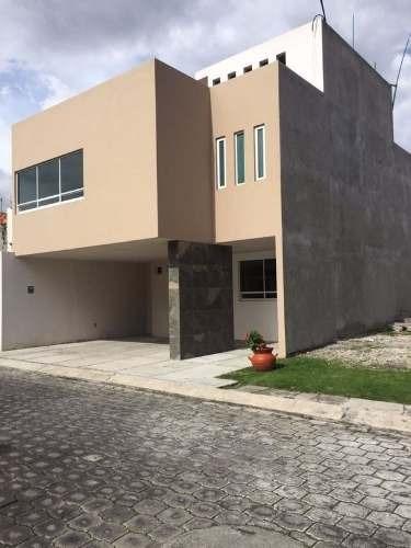 casa nueva en venta en privada en metepec