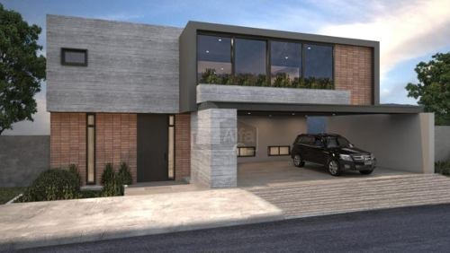 casa nueva en venta en sierra alta 2 sector, monterrey, n.l.