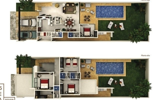 casa nueva en venta, privada módena, temozón, mérida norte