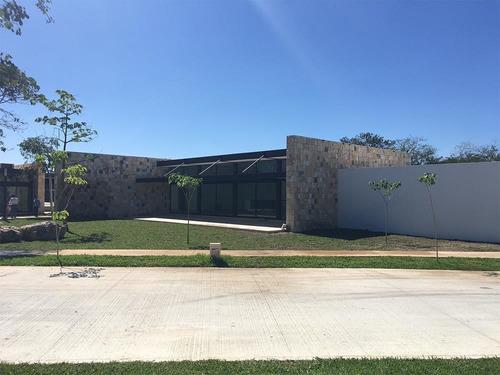 casa nueva en venta, privada parque natura, modelo lantana, cholul, mérida norte