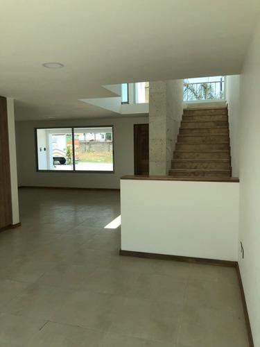casa nueva en venta resid. la mezza, a 2 cuadras de la udla, san andrés cholula