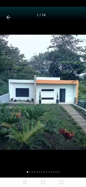 casa nueva en villeta con lote para piscina