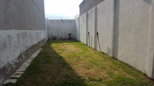casa nueva lista para habitar, amplio jardín, a 5 minutos del town center nicolas romero.