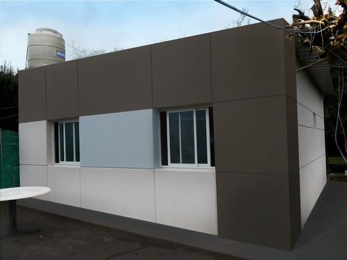 casa nueva llave en mano de material 3 dormitorios u$s48.000