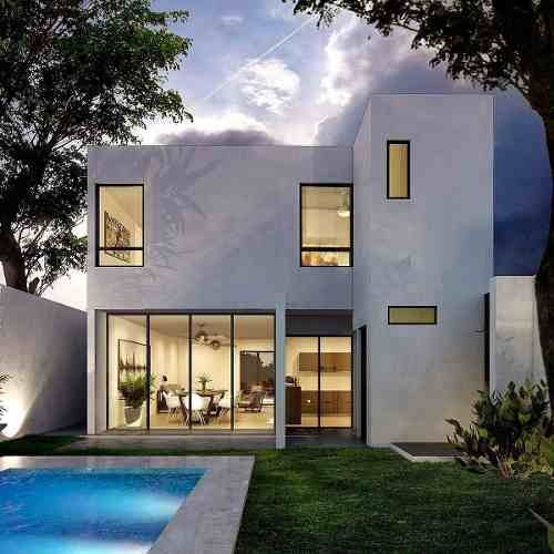 casa nueva y equipada en venta, col. leandro valle, mérida norte