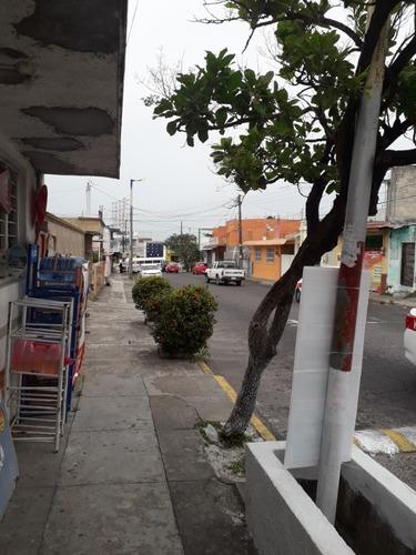 casa o terreno con 2 locales, cerca de av. xalapa, veracruz.