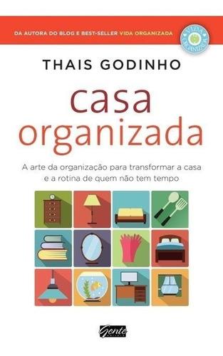 casa organizada - livro thais godinho - frete 9