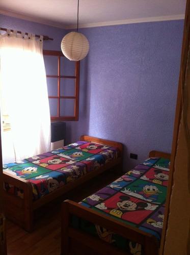 casa para 6 personas, 3 dormitorios.