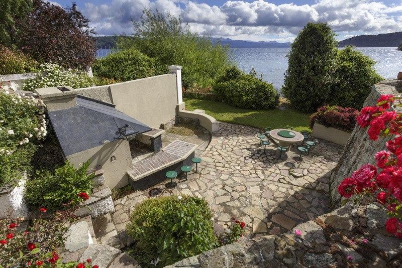 casa para 8 personas con costa de lago nahuel huapi
