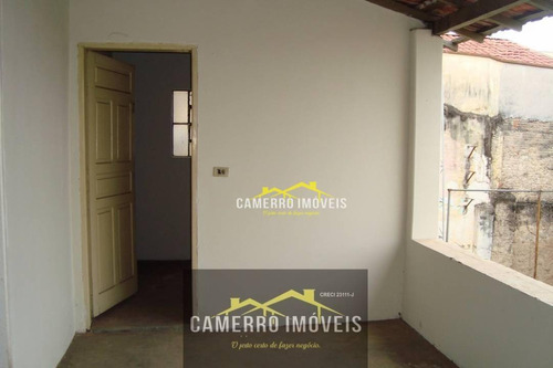 casa para alugar, 150 m² por r$ 1.700 - centro - santa bárbara d'oeste/sp - ca0295