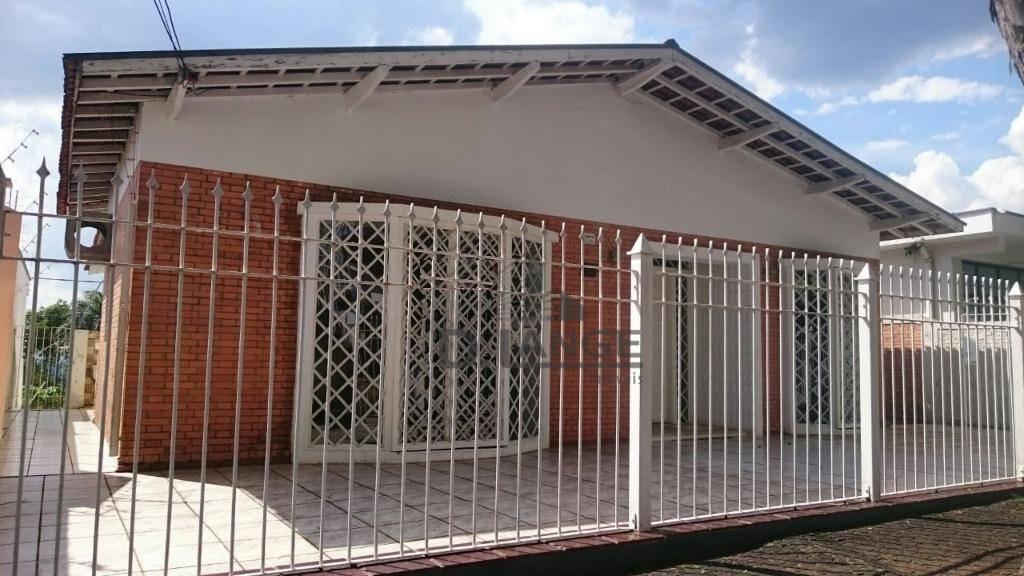 casa para alugar, 198 m² por r$ 3.000,00/mês - jardim chapadão - campinas/sp - ca13488