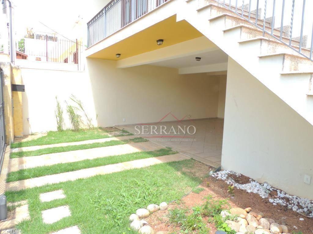 casa para alugar, 233 m² por r$ 3.337,50/mês - vila planalto - vinhedo/sp - ca0449
