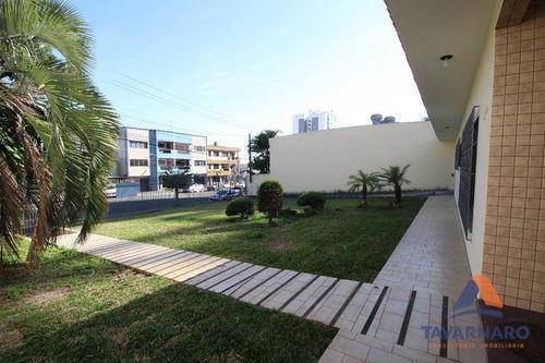 casa para alugar, 240 m² por r$ 4.500/mês - orfãs - ponta grossa/pr - ca0280