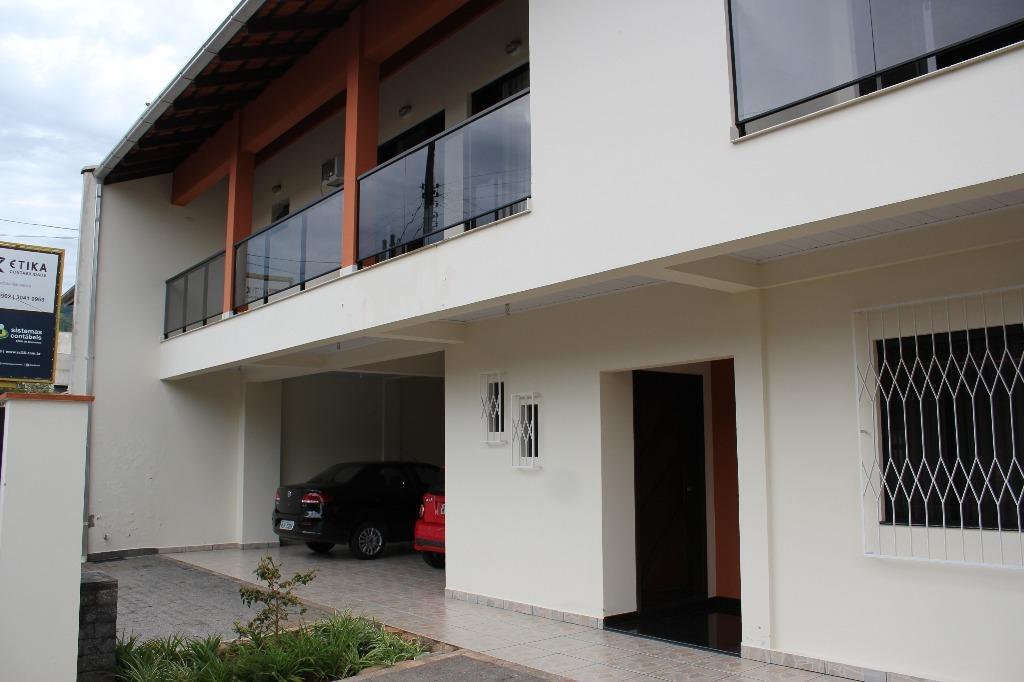 casa para alugar, 300 m² por r$ 4.500/mês - garcia - blumenau/sc - ca0835