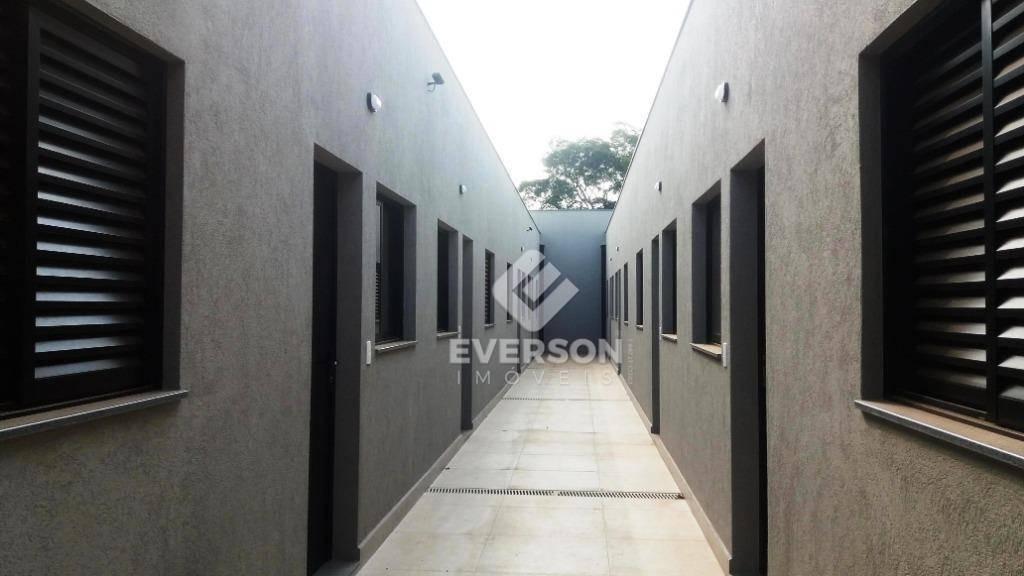 casa para alugar, 55 m² por r$ 1.100,00/mês - jardim anhangüera - rio claro/sp - ca1042