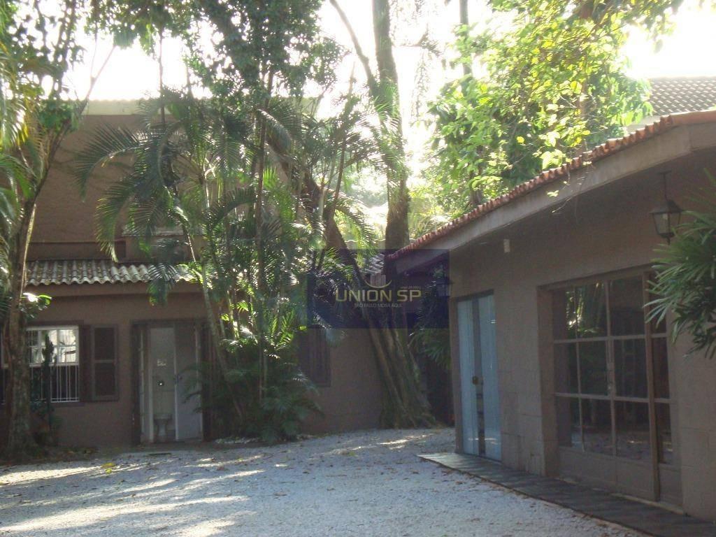 casa para alugar, 750 m² por r$ 30.000/mês - jardim américa - são paulo/sp - ca1218