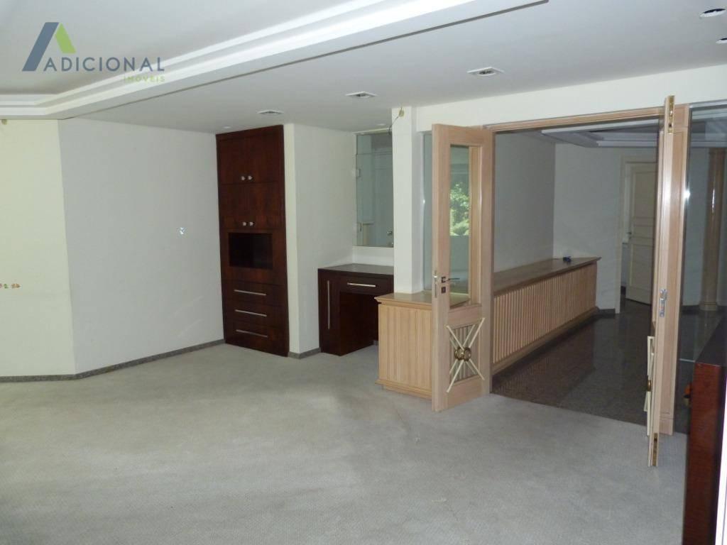 casa para alugar, 751 m² por r$ 14.000,00/mês - ahú - curitiba/pr - ca0034