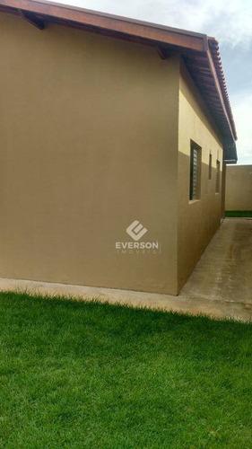 casa para alugar, 76 m² por r$ 899,00/mês - jardim são caetano ii - rio claro/sp - ca1033