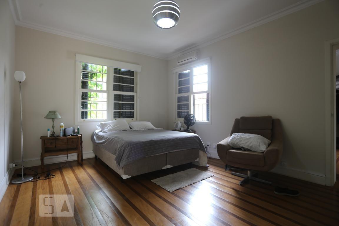 casa para aluguel - higienópolis, 3 quartos,  455 - 893011432