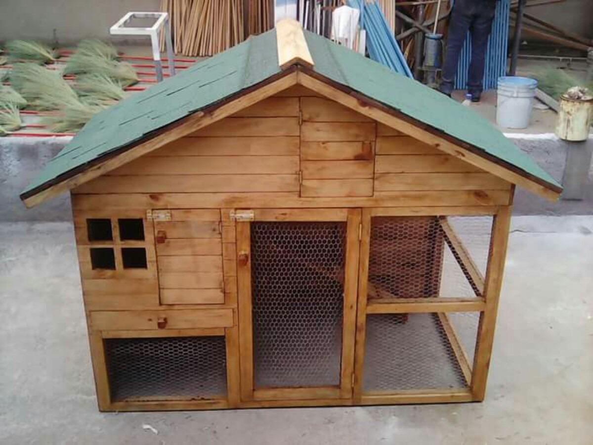 Casa para conejo cuyo hur n chinchilla conejera de - Casa conejo ...