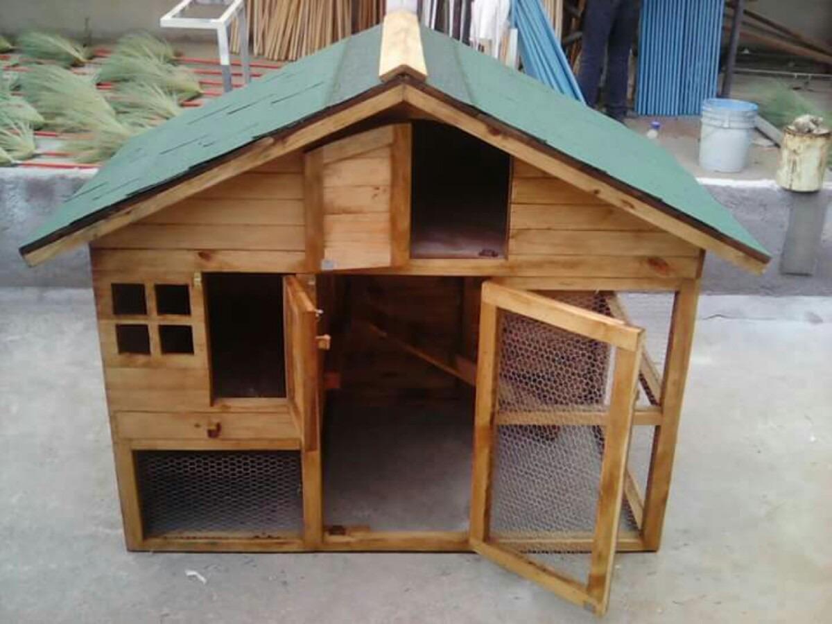 Casa Para Conejo Cuyo Huron Chinchilla Conejera De Lujo