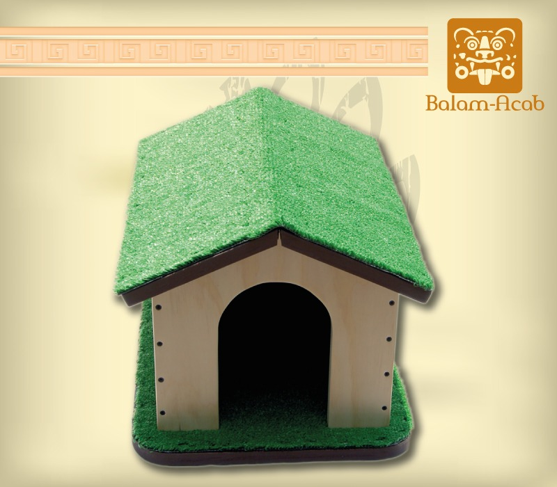 Casa para gato madera en mercado libre for Ayuda para construir tu casa