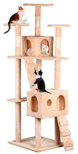 casa para gatos arbol trepador rascador entrega inmediata